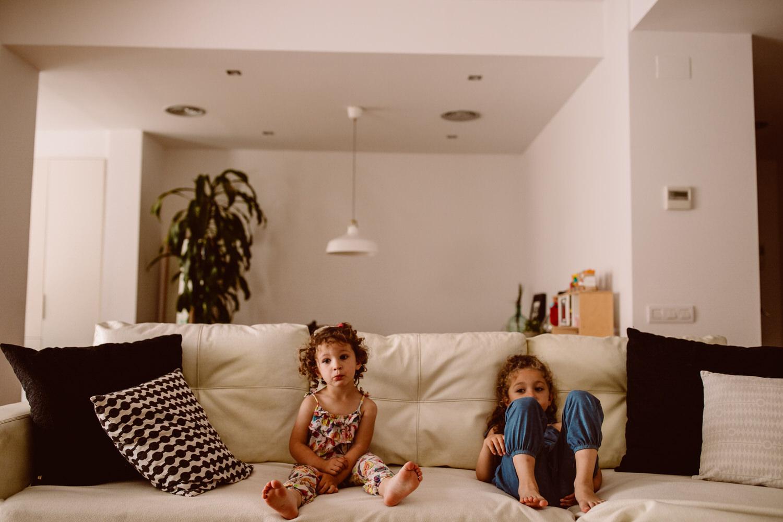 fotografia natural de familias