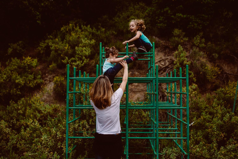 fotografia espontanea de familias