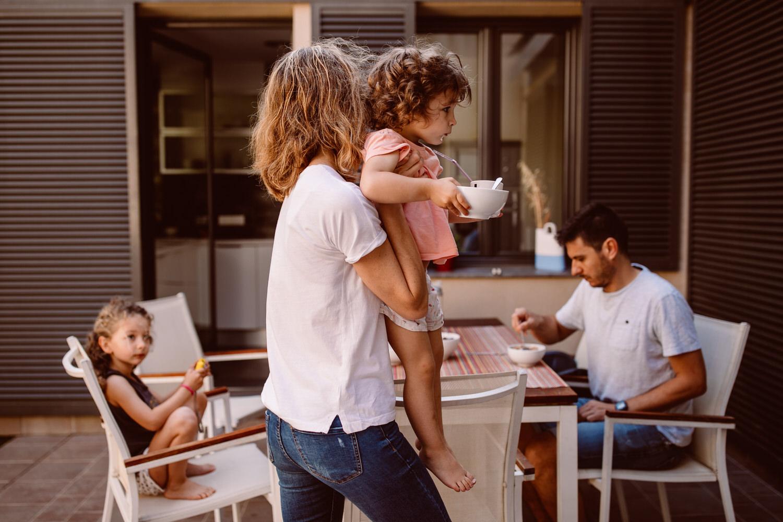 fotografia sin posado niños barcelona