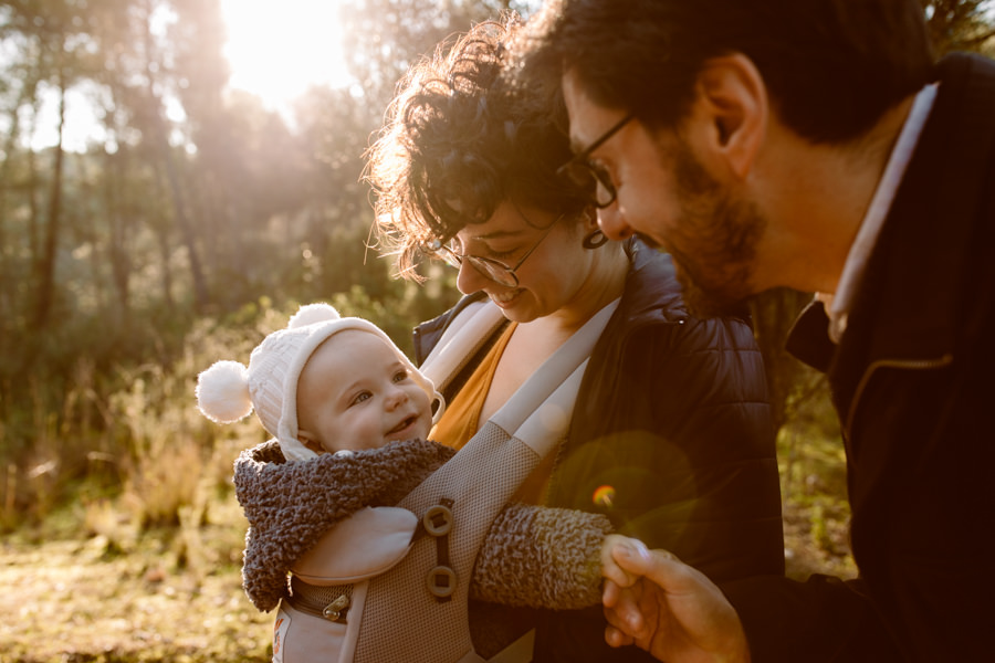 fotos de bebe naturales